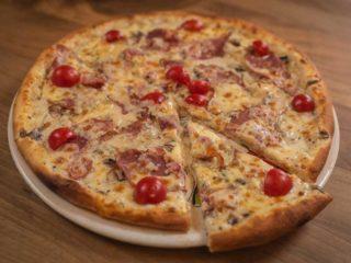 Pizza Pečenica, parmezan dostava