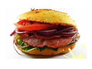 Burger Bacon delivery