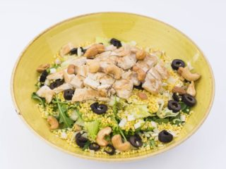 Salad turkey and millet delivery