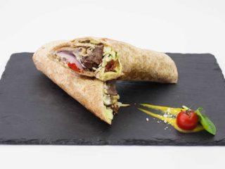 Tortilja sa junetinom i dimjenim kačkavaljem dostava