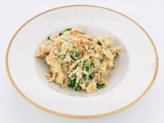 Pasta with chicken in cashew sauce delivery