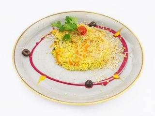 Millet with vegetables and hazelnut delivery