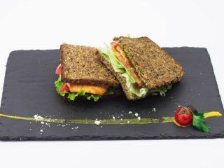 Salmon sandwich delivery