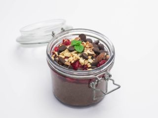 Protein chocolate chia pudding delivery