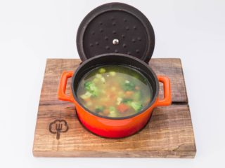 Soup with vegetables delivery