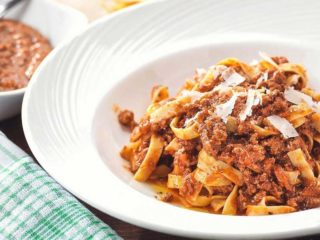 Bolognese delivery