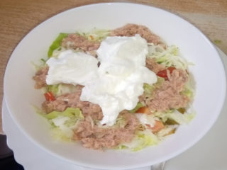 Salad with tuna delivery