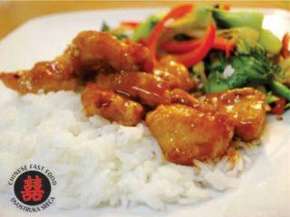 17. Piletina sa nudlama u soja sosu dostava