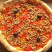 Fishy pizza