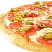 Picante pizza