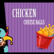 Chicken cheese balls