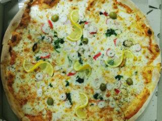 Pizza Frutti di mare dostava