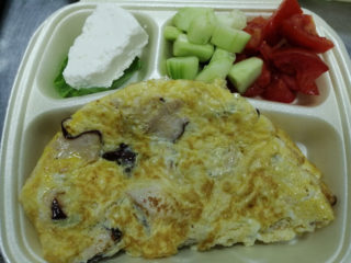 Omlet sa dimljenom piletinom dostava