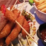 Cranch chicken sticks