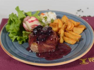 Biftek u sosu od suvih šljiva dostava