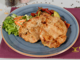 Turkey fillet with grilled vegetables delivery