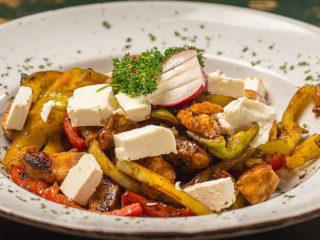 Grilovano povrće sa piletinom dostava