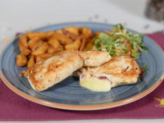 Piletina punjena pršutom i dimljenim sirom dostava