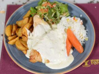 Chicken in gorgonzola sauce delivery