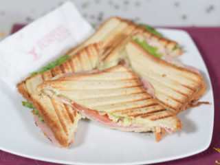 Toast sandwich delivery