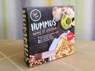 Mushrooms hummus delivery