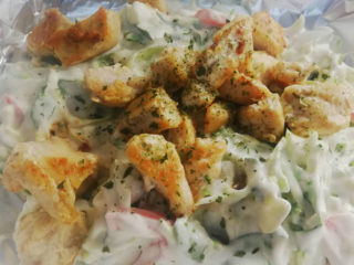 Salad with chicken breast delivery