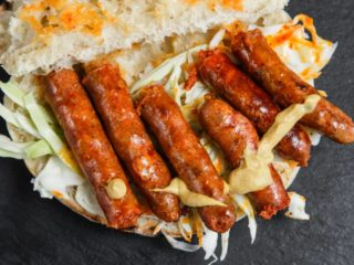 Grill sausage delivery