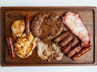 Mix barbecue per kilogram delivery
