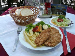 Fried chicken with sesame delivery