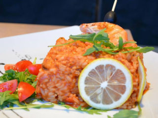Risotto with seafood delivery