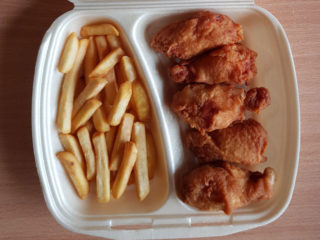 Wings small portion delivery