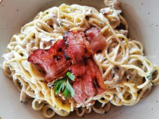 Špagete Karbonara dostava